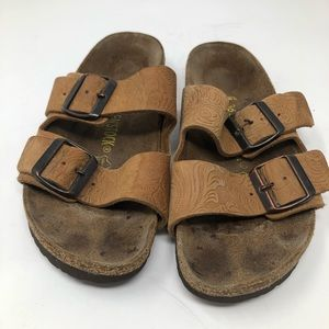 Birkenstock Arizona Brown Sandals Size 36 EU US 5